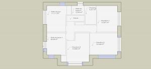 plan-surface-étage
